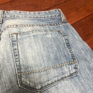 Jeans - Blue Cropped Jeans